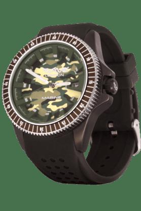 Marine GREEN CAMOUFLAGE Mens Watch