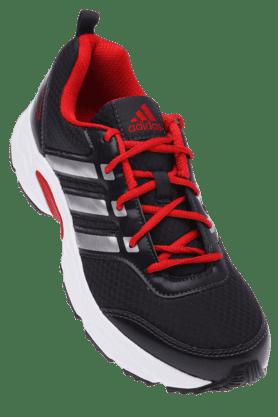 ADIDASMens Black Sports Running Shoe