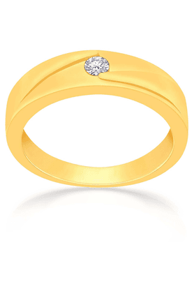 MALABAR GOLD AND DIAMONDS Mens Mine Diamond Ring - Size 21