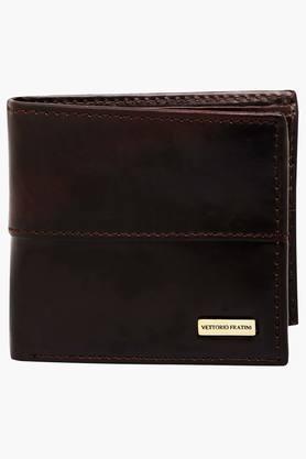 VETTORIO FRATINIMens Leather 1 Fold Wallet - 202224518