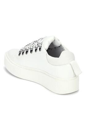 TRUFFLE COLLECTION - WhiteCasuals Shoes - 1