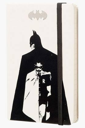 WILLIAM PENN Batman Leather Hard Cover Note Book With A6 Ruled Paper