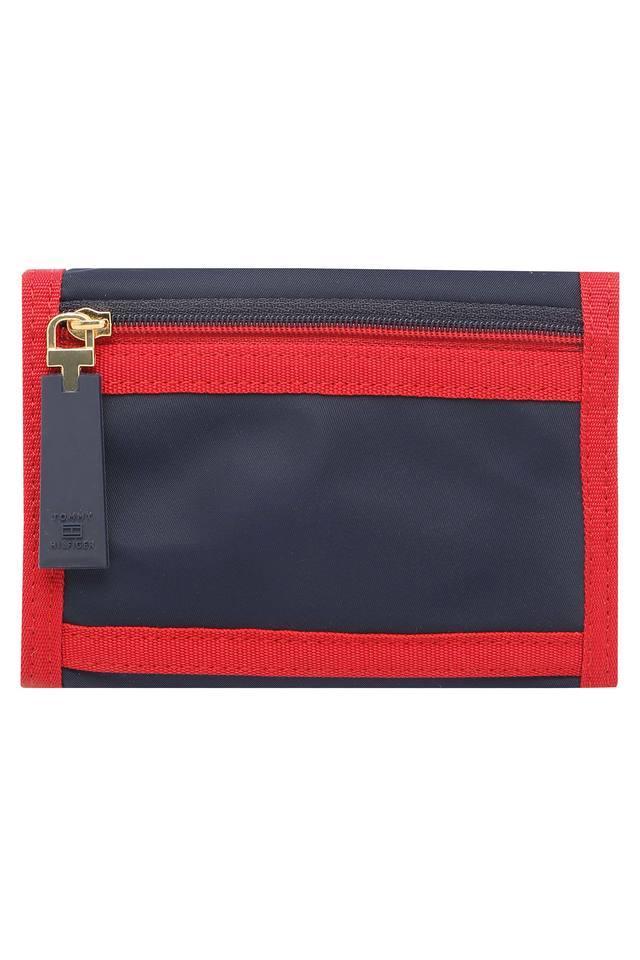 Womens Velcro Closure 2 Fold Wallet