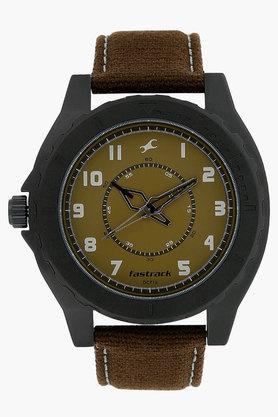 FASTRACKMens Brown Dial Analogue Watch