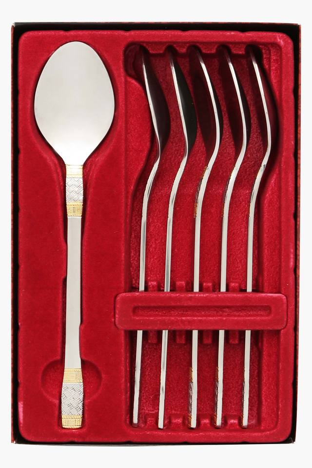 Celebration Embossed Baby Spoon Set of 6