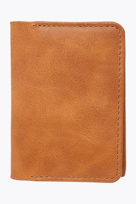 Mens Leather 1 Fold Card Holder