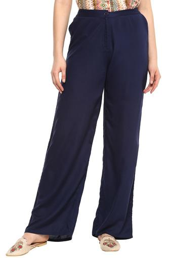 GLOBAL DESI -  Indigo Pants - Main