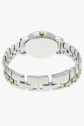 Womens Silver Dial Metal Strap Watch - AK2795SVTTJ