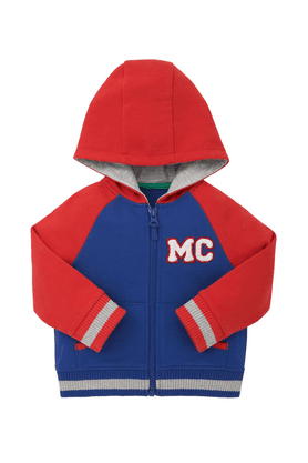 MOTHERCAREBoys Hooded Neck Long Sleeves Jacket