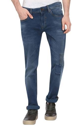 LOUIS PHILIPPE JEANS -  Mid Blue Jeans - Main