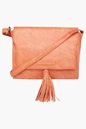 ELLIZA DONATEIN Womens Synthetic Leather Slingbag  ...