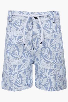 Boys 2 Pocket Printed Shorts