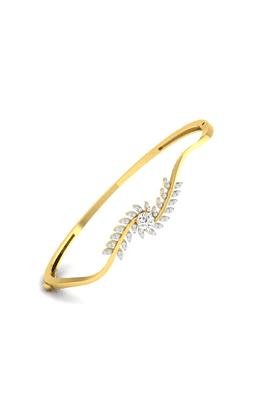 SPARKLESBracelet 18Kt Gold & Real Diamonds - BR10524