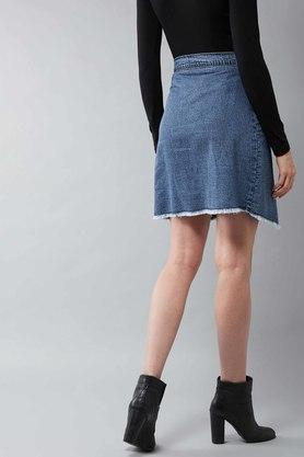 DOLCE CRUDO - Blue Skirts - 1