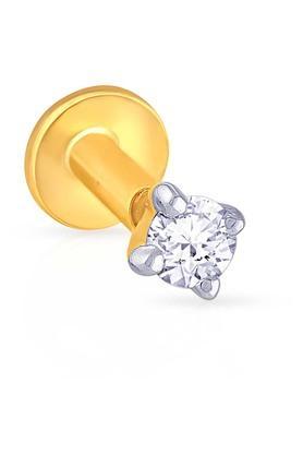 MALABAR GOLD AND DIAMONDSWomens Diamond Nosepin UINSP00002