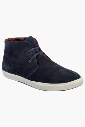 HATS OFF ACCESSORIES Mens Suede Lace Up Casual Shoes