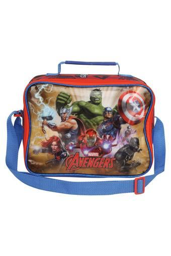 Kids Avengers Print Zip Closure Lunch Bag