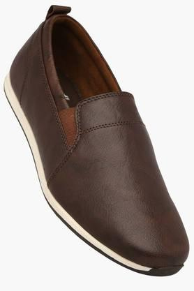 FRANCO LEONE Mens Leather Slipon Casual Shoe - 201515603