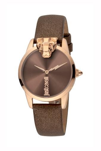 Womens Brown Dial Analogue Watch - 1L057L0235