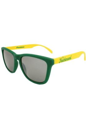KNOCKAROUND Classic Premium Unisex Sunglasses Green And Yellow-PRGL1066 (Use Code FB20 To Get 20% Off On Purchase Of Rs.1800)