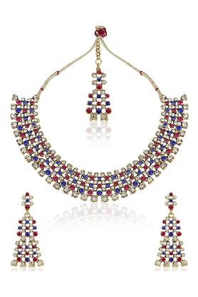 SIA Authentic Immitation Necklace Set - 16332