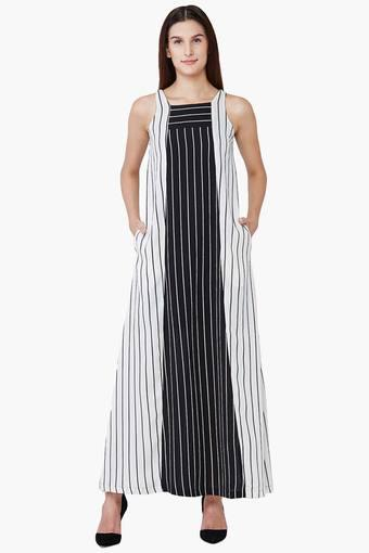 d23bd430375 Buy AND Women s Striped Trapeze Maxi Dress
