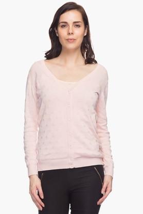 VAN HEUSENWomens Full Sleeves Sweater
