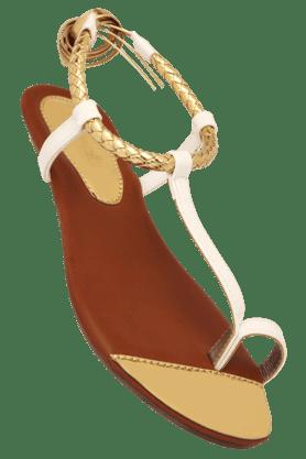 CATWALKWomens Ethnic Slipon Flat Sandal