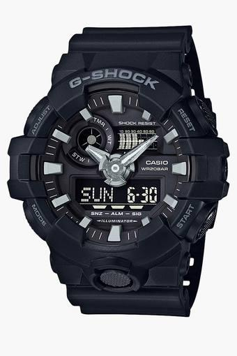 Mens GA-700-1BDR (G715) G-Shock Analog-Digital Watch