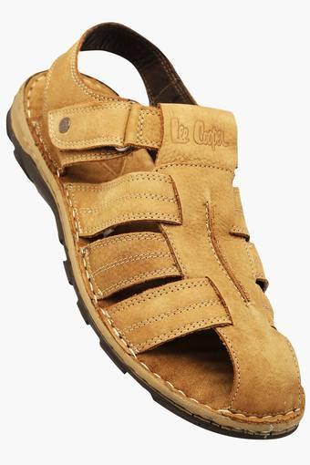 cced0d71b2c286 Buy LEE COOPER Mens Casual Velcro Closure Sandal