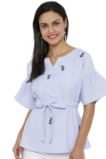 SOIE -  BlueT-Shirts - Main