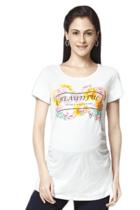 NINE MATERNITY Beautiful Thing Happening Maternity Top