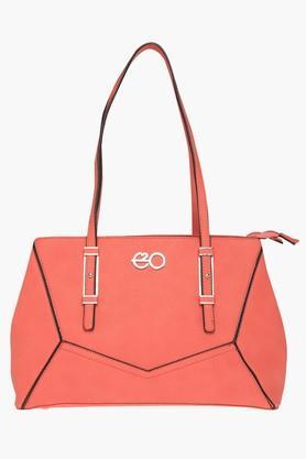 E2OWomens Zipper Closure Shoulder Bag - 200905237