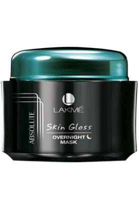 LAKME Absolute Skin Gloss Overnight Mask 50 Gm