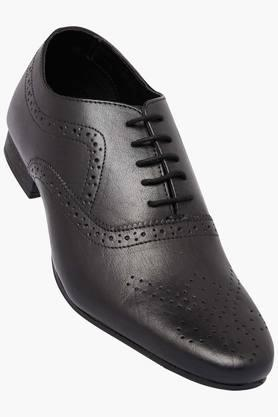 FRANCO LEONE Mens Leather Lace Up Oxford Shoes - 202658095