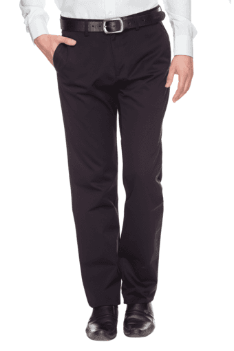 LOUIS PHILIPPE -  Dark Blue Cargos & Trousers - Main