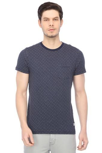 JACK AND JONES -  NavyT-shirts - Main