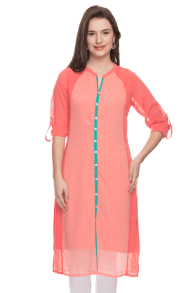 HAUTE CURRY Womens Churidar Suit