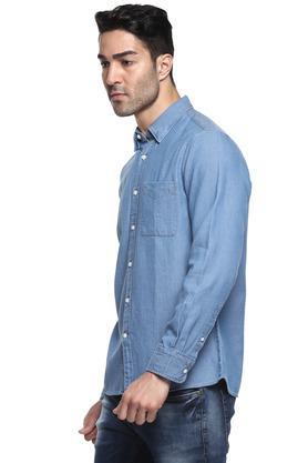 Mens Button Down Collar Assorted Shirt