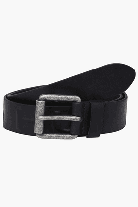 BEING HUMAN Mens Casual Leather Belt