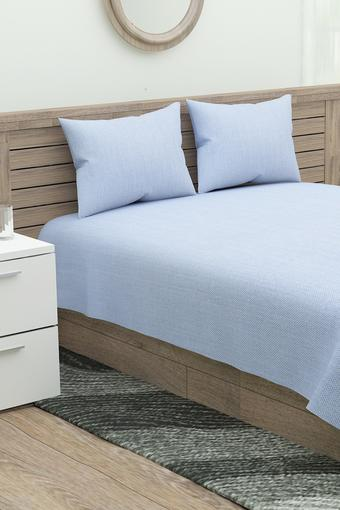 D'DECOR -  Blue Bed Sheets - Main