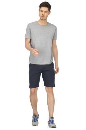 Mens 2 Pocket Slub Shorts
