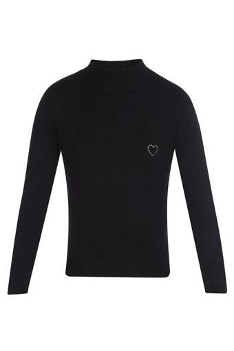 TINY GIRL -  BlackWinterwear - Main