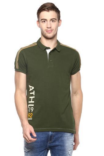 SPYKAR -  OliveT-Shirts & Polos - Main
