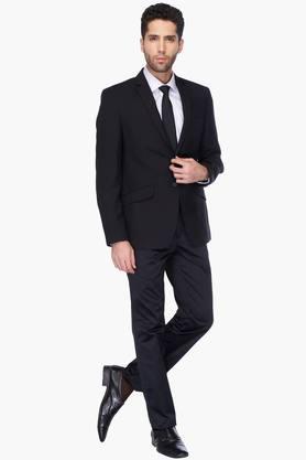 Mens Full Sleeves Slim Fit Solid Blazer