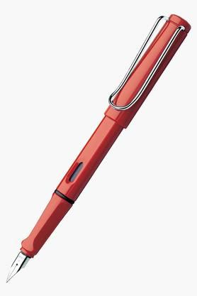 WILLIAM PENN Lamy Safari Red Broad Fountain Pen