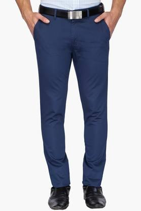 VAN HEUSEN SPORT Mens Tapered Fit 4 Pocket Solid Chinos  ...