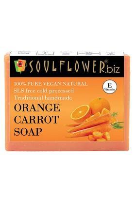 Orange Carrot Soap - 150gm