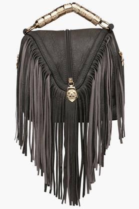 RS BY ROCKY STARWomens Leather Zipper Closure Satchel Handbag - 201851976