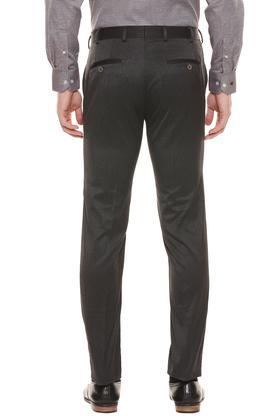 RAYMOND - Dark GreyFormal Trousers - 1